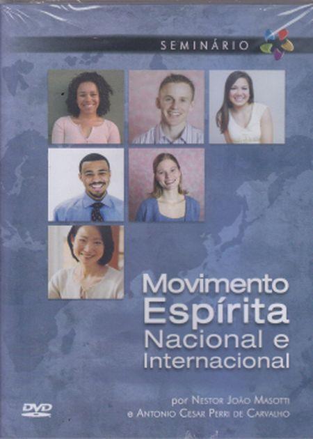 MOVIMENTO ESPÍRITA NACIONAL E INTERNACIONAL - DVD