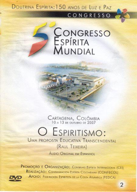 5° CONGRESSO ESPÍRITA MUNDIAL VOL 02 - DVD