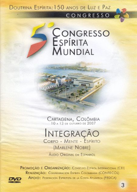 5° CONGRESSO ESPÍRITA MUNDIAL VOL 03 - DVD