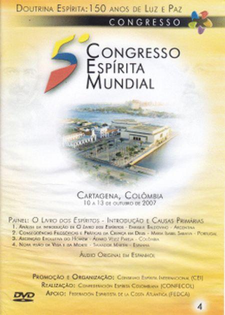 5° CONGRESSO ESPÍRITA MUNDIAL VOL 04 - DVD