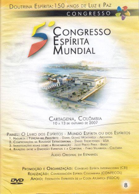 5° CONGRESSO ESPÍRITA MUNDIAL VOL 08 - DVD