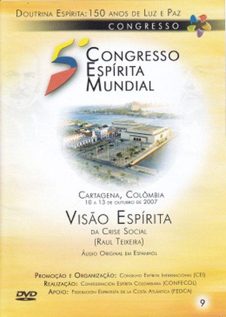 5° CONGRESSO ESPÍRITA MUNDIAL VOL 09 - DVD