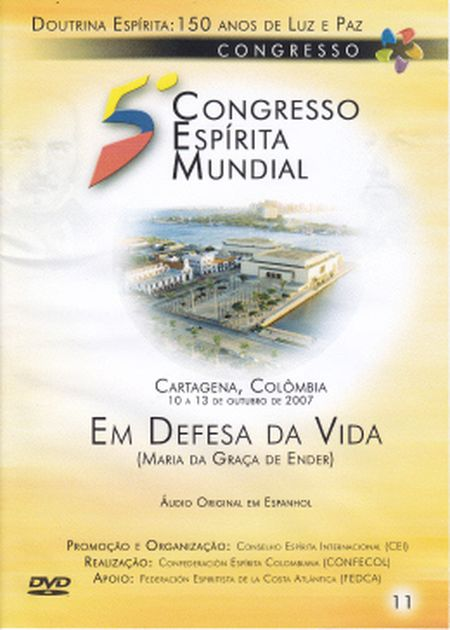 5° CONGRESSO ESPÍRITA MUNDIAL VOL 11 - DVD