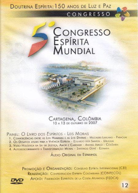 5° CONGRESSO ESPÍRITA MUNDIAL VOL 12 - DVD