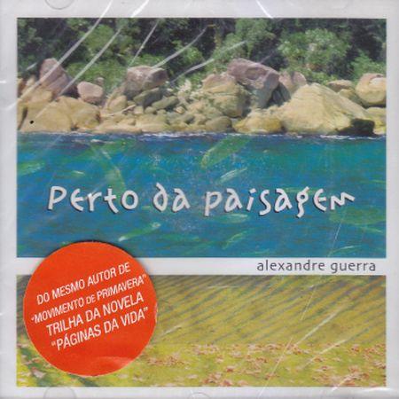 PERTO DA PAISAGEM - CD