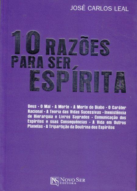 10 RAZOES PARA SER ESPIRITA