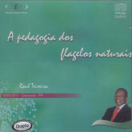 PEDAGOGIA DOS FLAGELOS NATURAIS - CD DUPLO