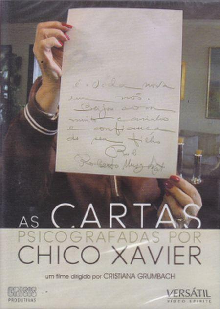 CARTAS PSICOGRAFADAS DE CHICO XAVIER - DVD