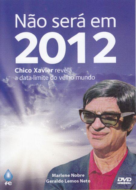 NÃO SERÁ EM 2012 - DVD