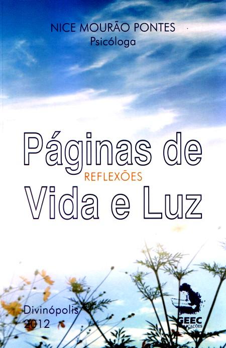 PAGINAS DE VIDA E LUZ