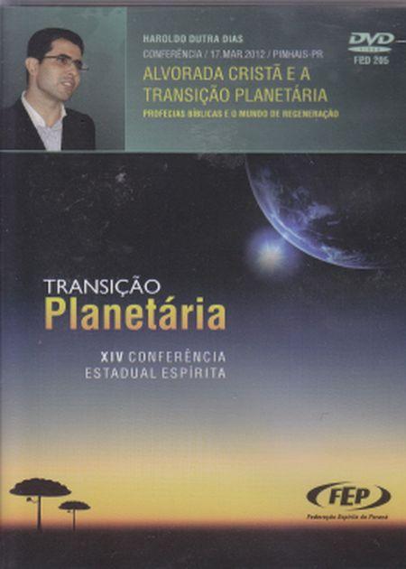 CEE XIV ALVORADA CRISTA E A TRANSIÇÃO PLANETARIA - DVD