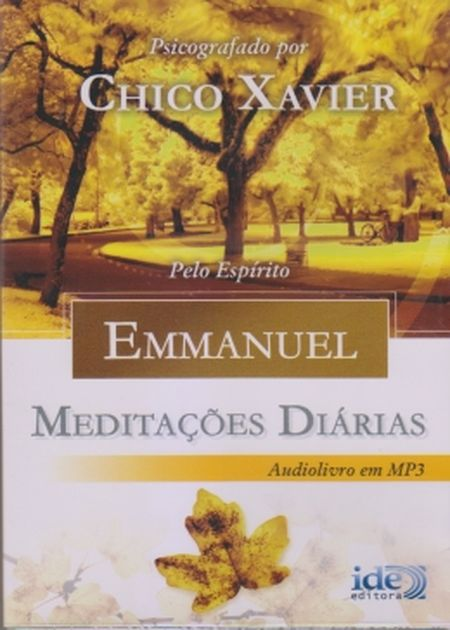 MEDITACOES DIARIAS EMMANUEL - AUDIOBOOK MP3