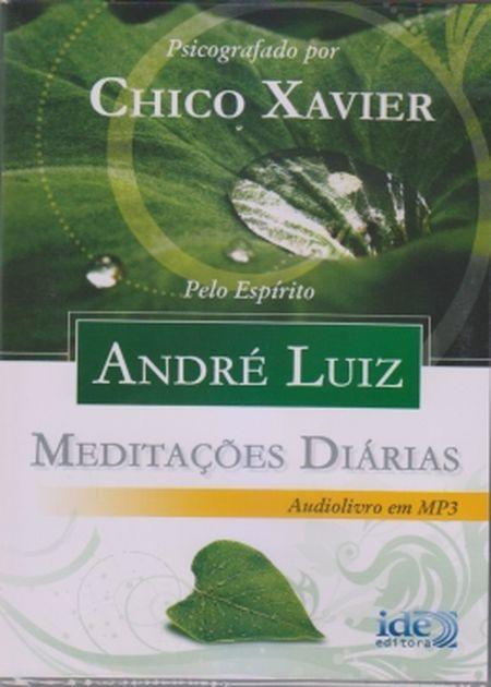 AUDIOBOOK - MEDITACOES DIARIAS ANDRE LUIS - MP3