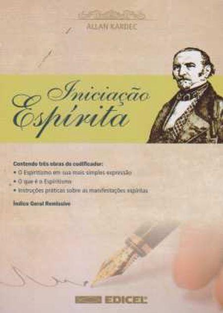 INICIACAO ESPIRITA - EDICEL