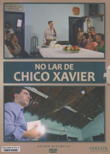 NO LAR DE CHICO XAVIER - 3 DVDs