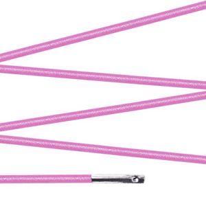 Elástico com ponteira 15cm Rosa - 100 unid