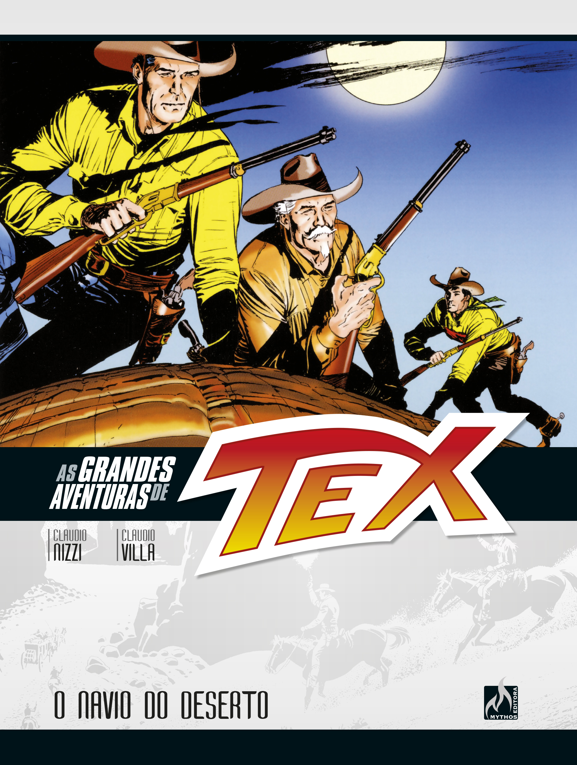 PRÉ-VENDA AS GRANDES AVENTURAS DE TEX VOL. 3 (SETEMRO/2019)