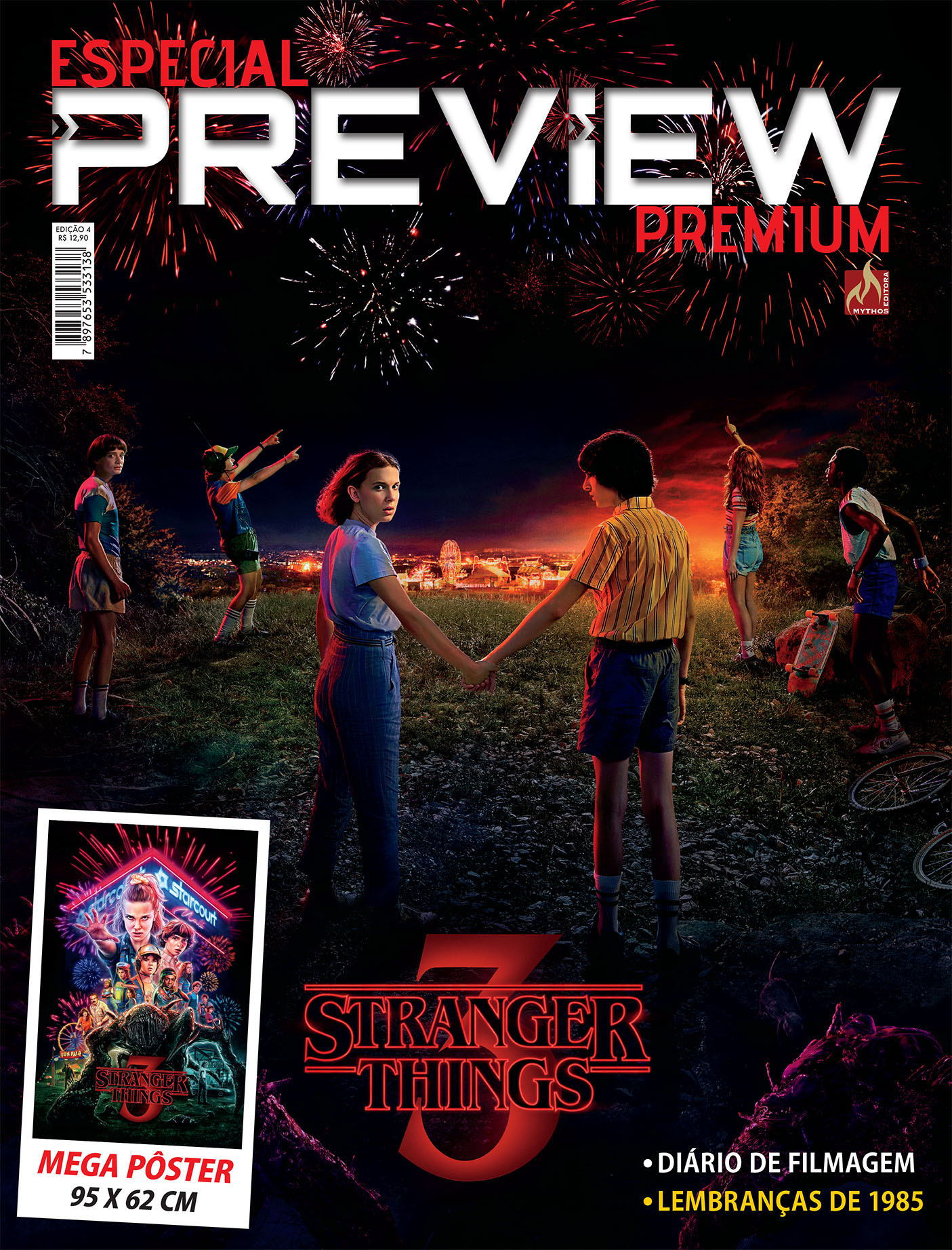 ESPECIAL PREVIEW PREMIUM STRANGER THINGS VOL. 4