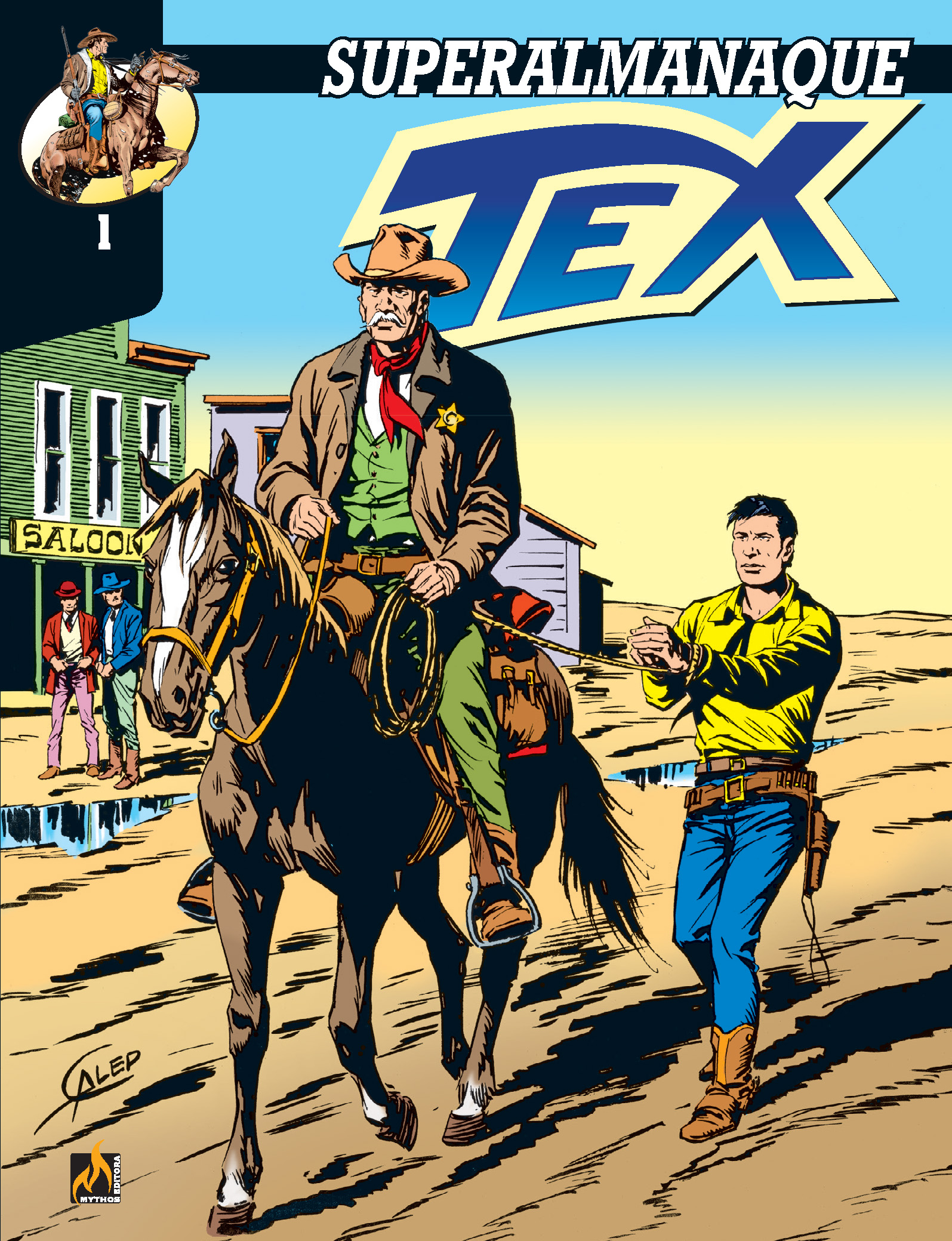 SUPERALMANAQUE TEX VOL. 1- FORMATO ITALIANO