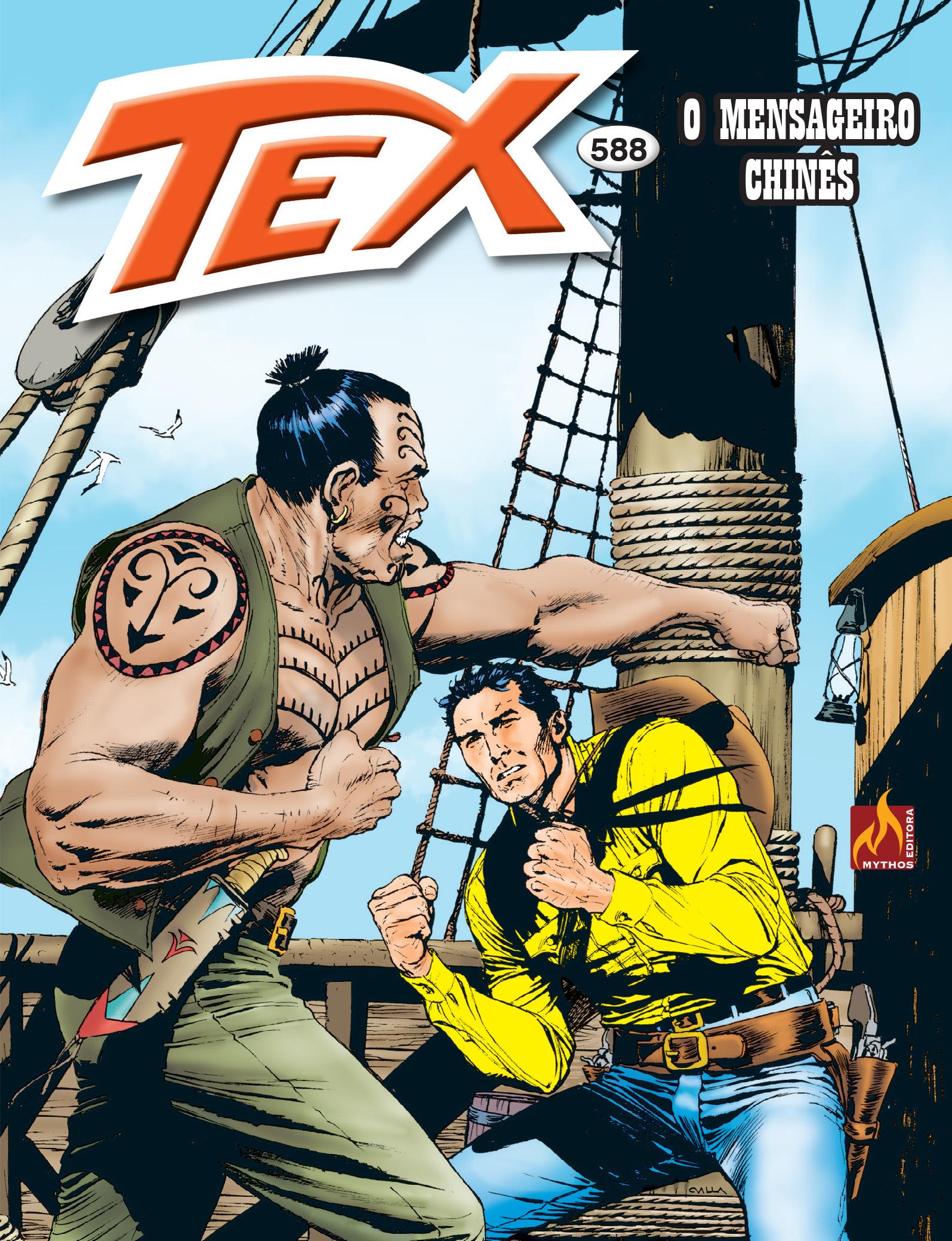 TEX Nº 588 - FORMATO ITALIANO