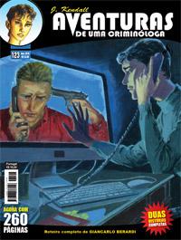 J KENDALL Nº 123 AVENTURAS DE UMA CRIMINÓLOGA