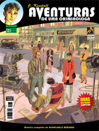 J KENDALL Nº 131 AVENTURAS DE UMA CRIMINÓLOGA