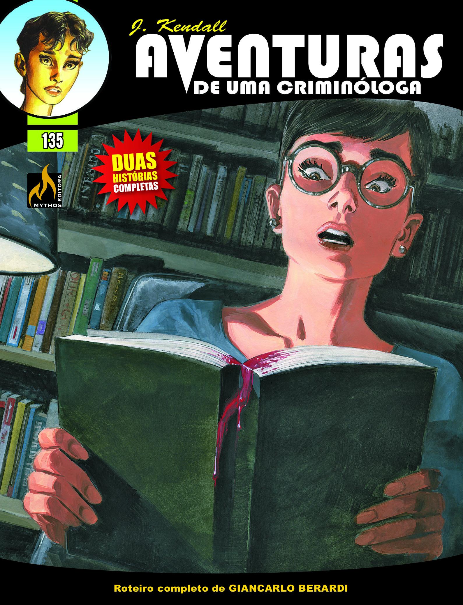 J KENDALL Nº 135 AVENTURAS DE UMA CRIMINÓLOGA