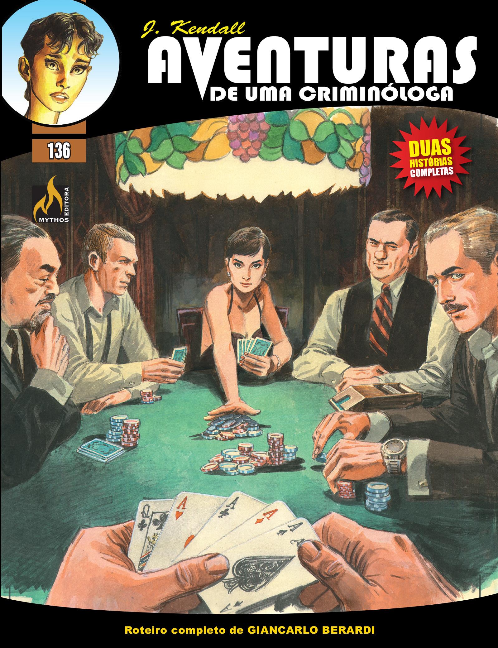 J KENDALL Nº 136 AVENTURAS DE UMA CRIMINÓLOGA