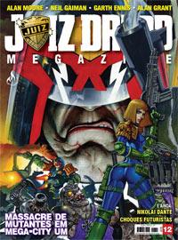JUIZ DREDD MEGAZINE Nº 12