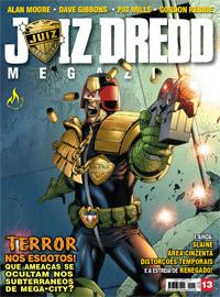 JUIZ DREDD MEGAZINE Nº 13