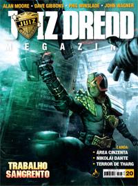 JUIZ DREDD MEGAZINE Nº 20