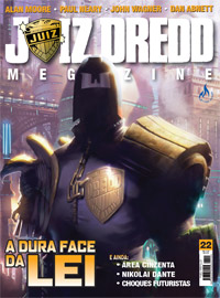 JUIZ DREDD MEGAZINE Nº 22