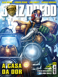 JUIZ DREDD MEGAZINE Nº 24