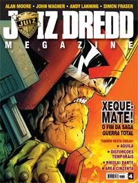 JUIZ DREDD MEGAZINE Nº 04