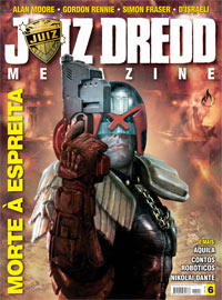 JUIZ DREDD MEGAZINE Nº 06