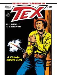 OS GRANDES CLÁSSICOS DE TEX Nº 29