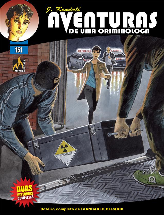 PRÉ-VENDA J KENDALL Nº 151 AVENTURAS DE UMA CRIMINÓLOGA (MARÇO/2021)