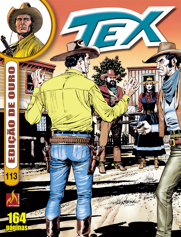 PRÉ-VENDA TEX ED OURO Nº 113 (MARÇO/2021)