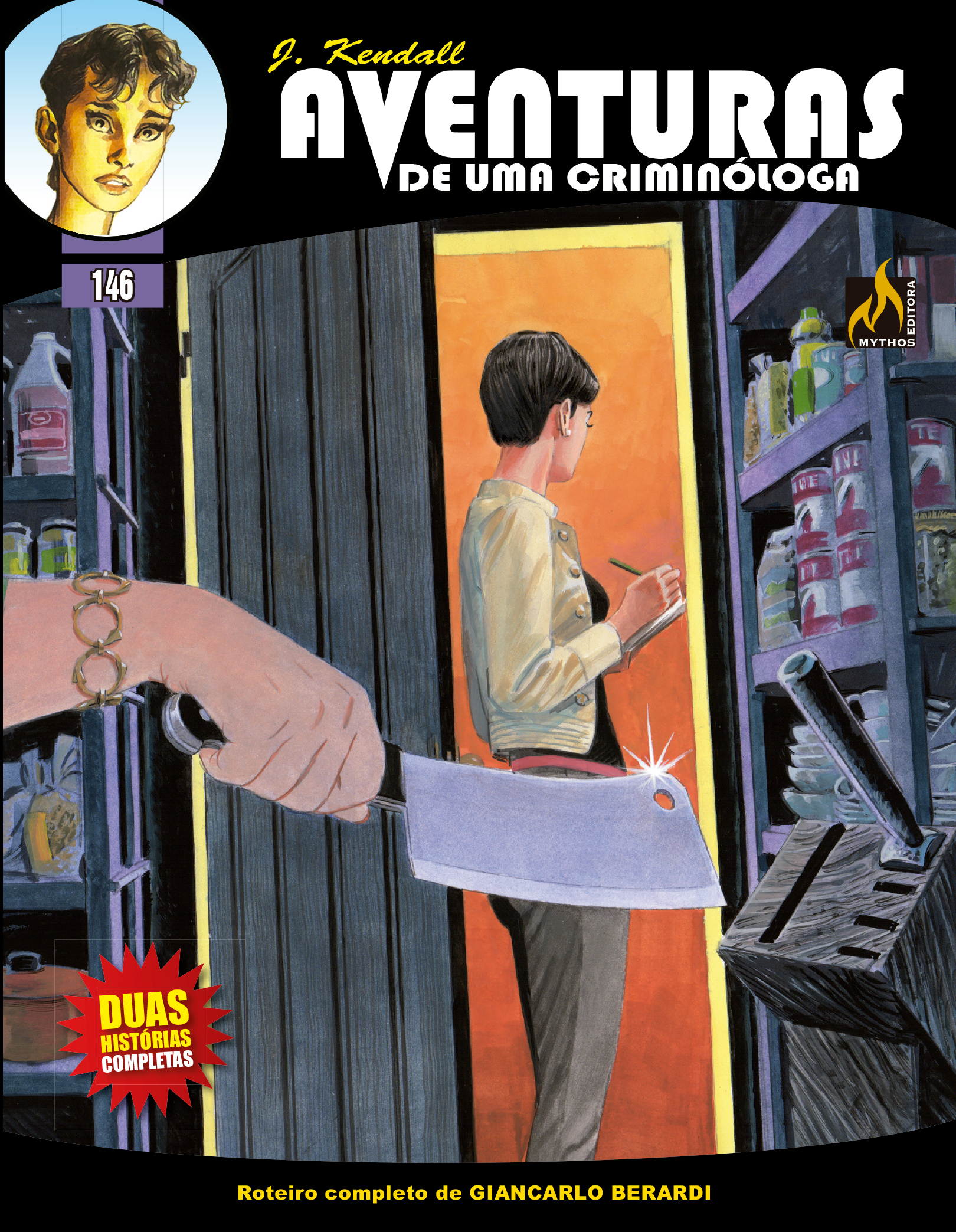J KENDALL Nº 146 AVENTURAS DE UMA CRIMINÓLOGA
