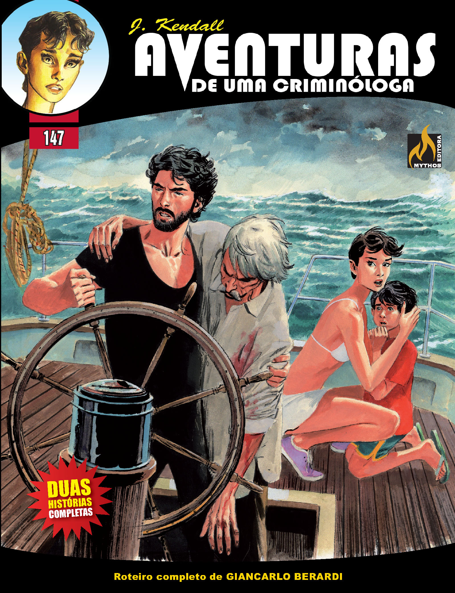 PRÉ-VENDA  J KENDALL Nº 147 AVENTURAS DE UMA CRIMINÓLOGA (JULHO/2020)