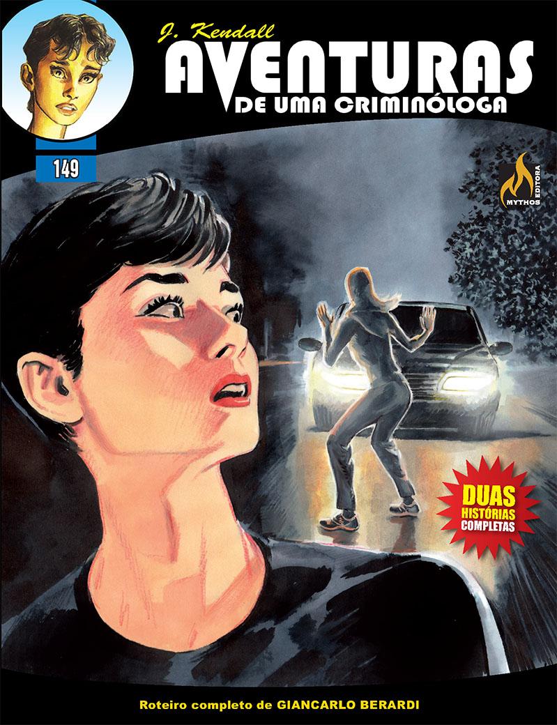 J KENDALL Nº 149 AVENTURAS DE UMA CRIMINÓLOGA