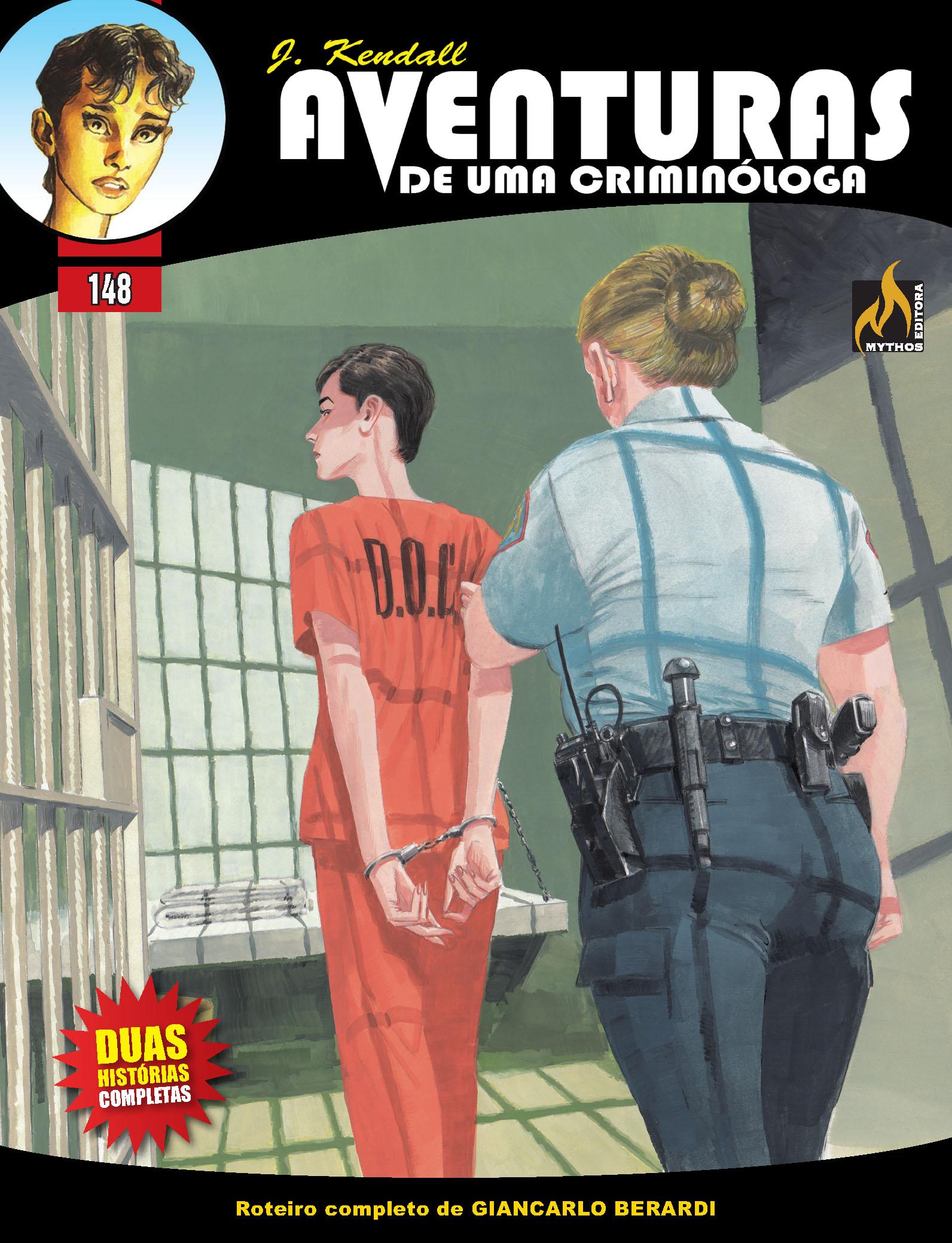 J KENDALL Nº 148 AVENTURAS DE UMA CRIMINÓLOGA