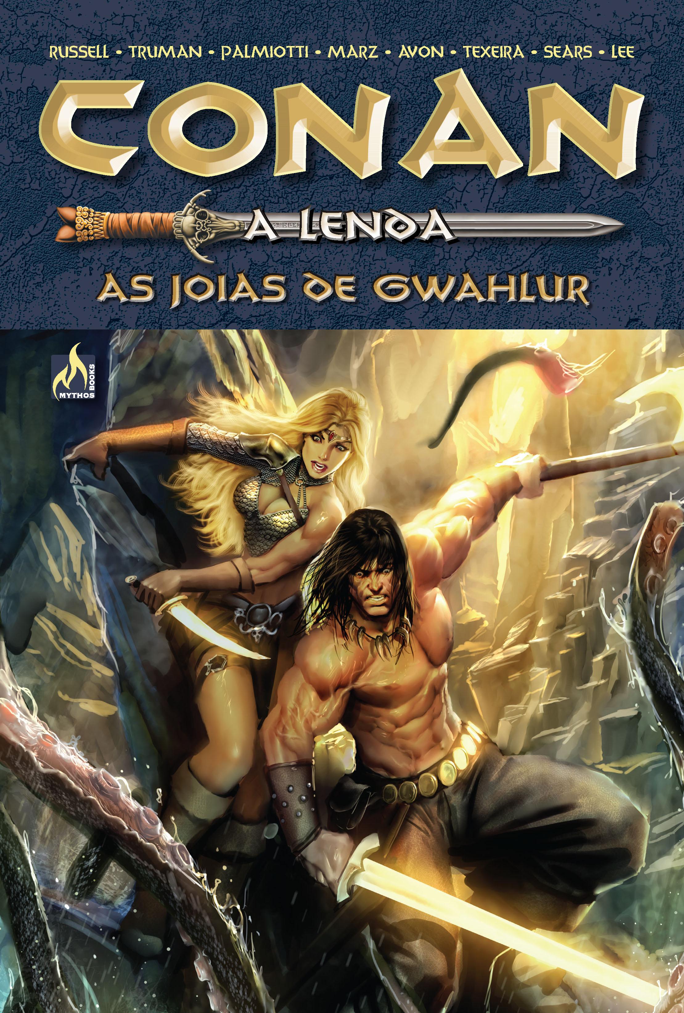 CONAN A LENDA - VOLUME 3