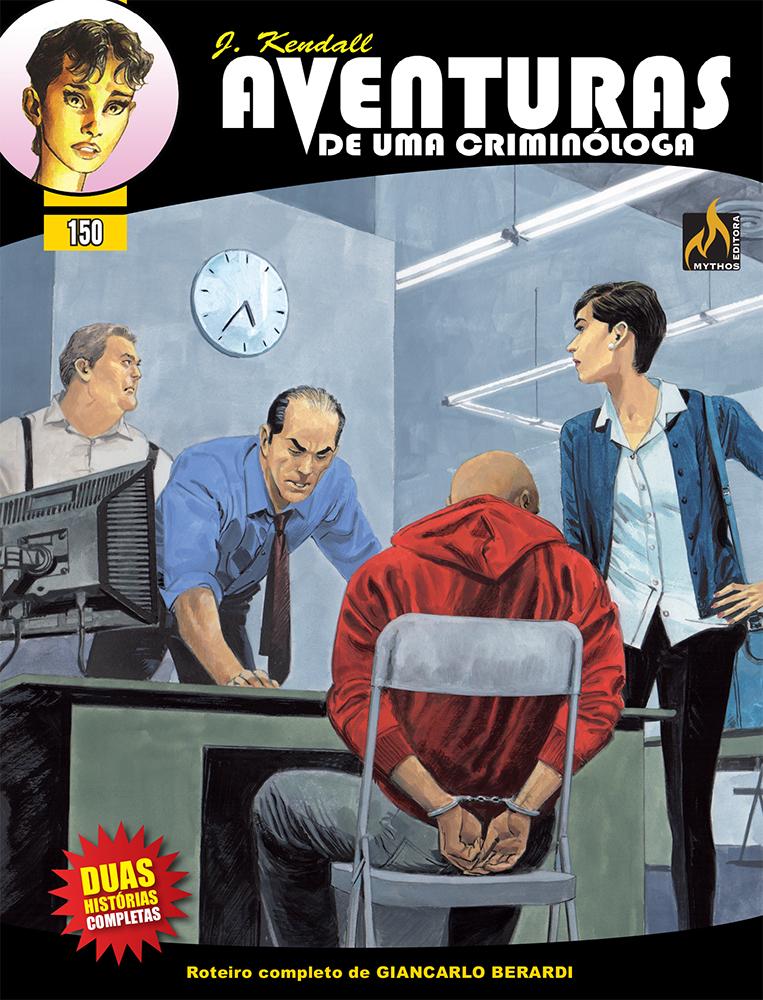 J KENDALL Nº 150 AVENTURAS DE UMA CRIMINÓLOGA