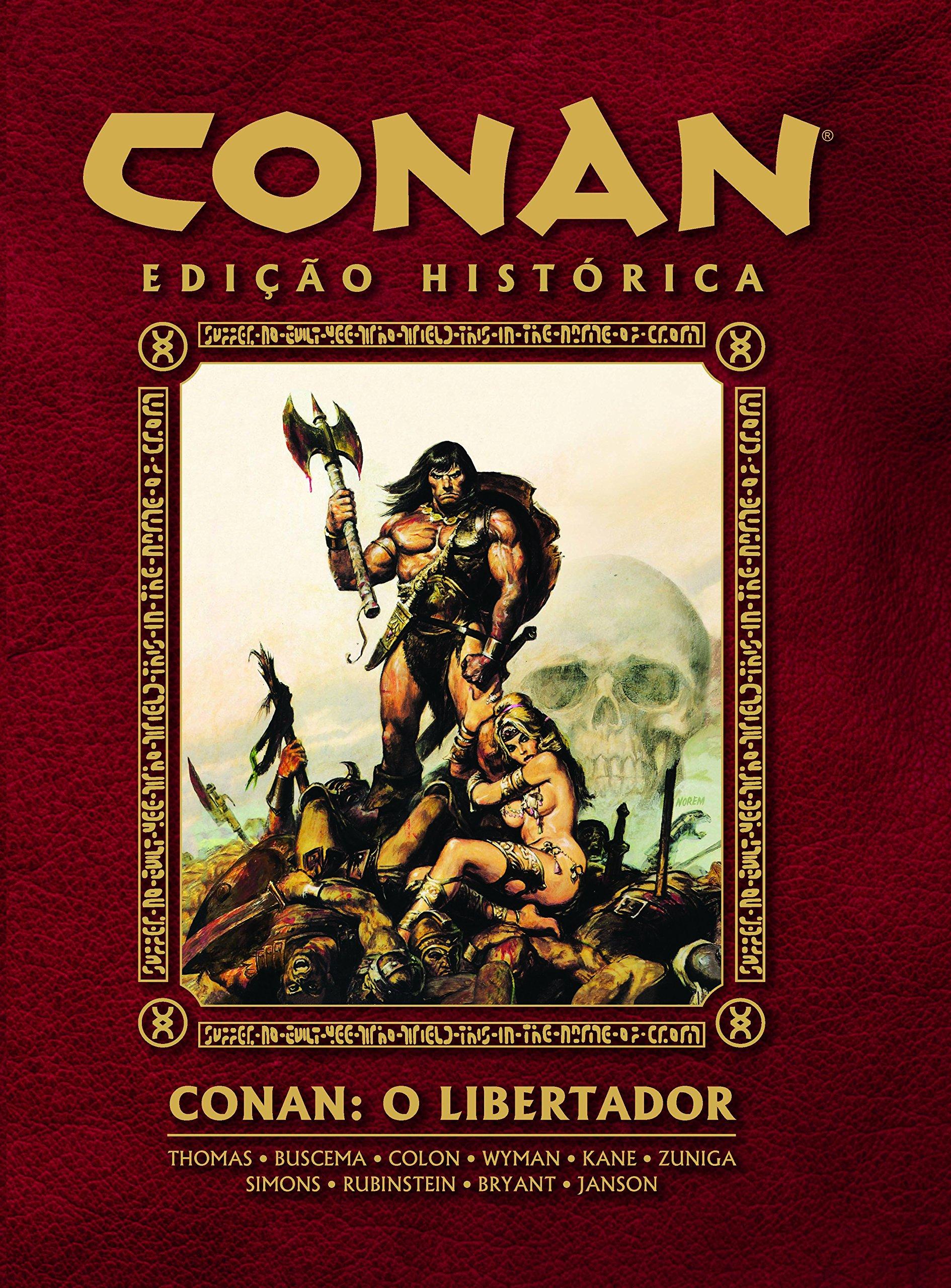 CONAN EDIÇÃO HISTÓRICA Nº 01