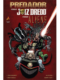 PREDADOR VS JUIZ DREDD VS ALIENS