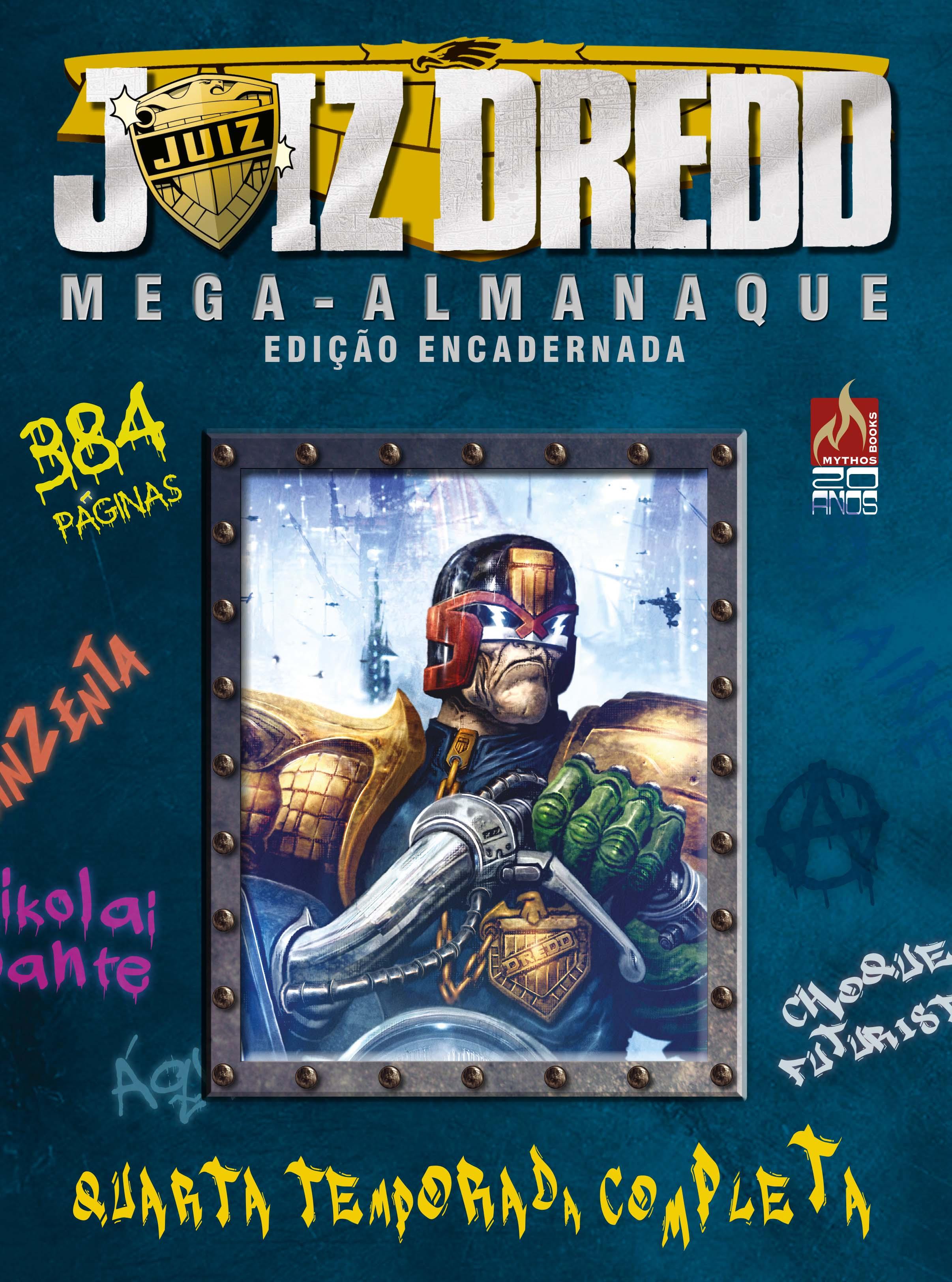 PRÉ-VENDA JUIZ DREDD MEGA-ALMANAQUE Nº 04