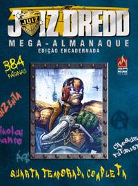 JUIZ DREDD MEGA-ALMANAQUE Nº 04