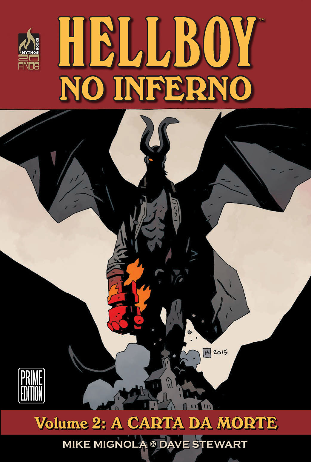 HELLBOY NO INFERNO VOL 02