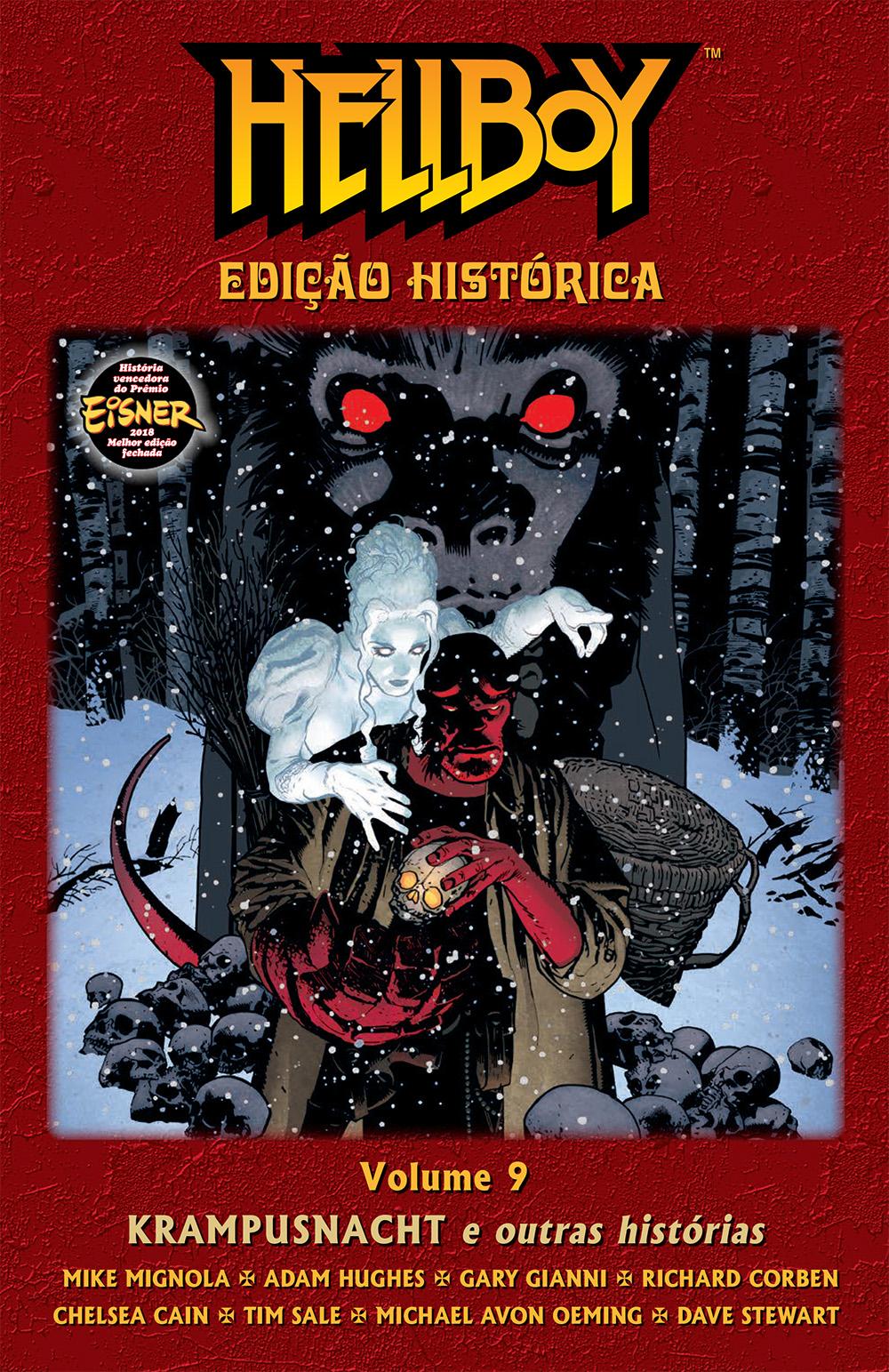 HELLBOY ED HISTÓRICA VOL. 09